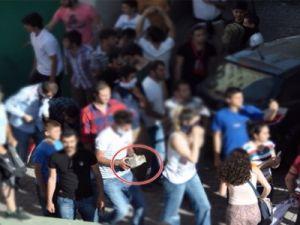 KAYSERİ'DE BİBER GAZINA 'PET' MASKELİ ÖNLEM