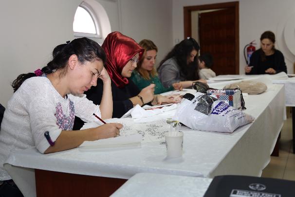 Talas'ta Kadınlara Yönelik Kurs