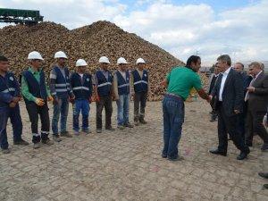 Kayseri Şeker'in Lisanslı depo çalışmaları hızla devam ediyor