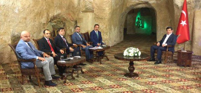 Başbakan Davutoğlu'ndan Kayseri açıklaması