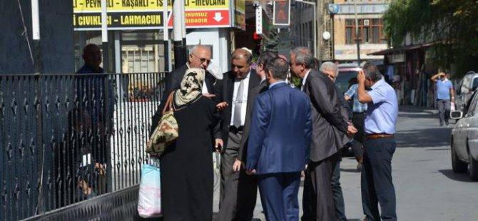 Ak Parti Adayı Mustafa Elitaş'a Büyük İlgi