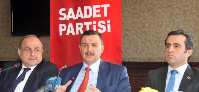 SAADET'TEN İLGİNÇ ÖNERİ ALMAANYA'YA HIZLI TREN!