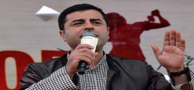 Demirtaş: 'Türkiye'nin en akıllı siyasetçisi bizimle uzlaşabilen siyasetçidir'