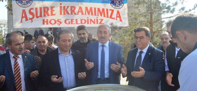 KAYSERİ OTO SANATKARLARI ODAS'INDAN 5000 KİŞİLİK AŞURE İKRAMI