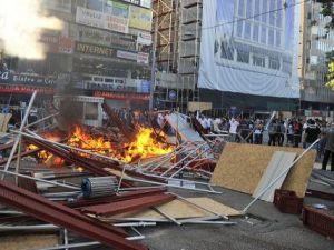 Ankara Kızılay'da Gezi Parkı Olayları Devam Ediyor