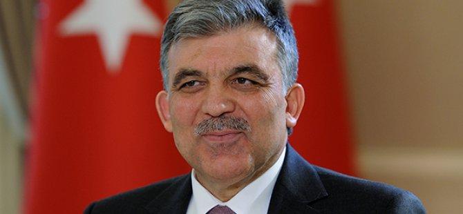 Abdullah Gül'den AK Parti'ye tebrik
