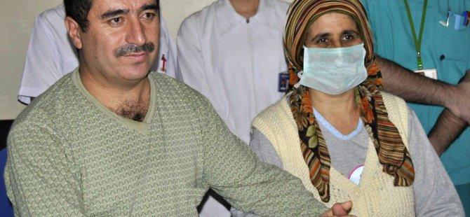 Kayseri'de Eşine böbreğini veren Zabıta Memuru