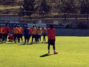 Trabzonspor antrenmanında olaylar ve gergin anlar