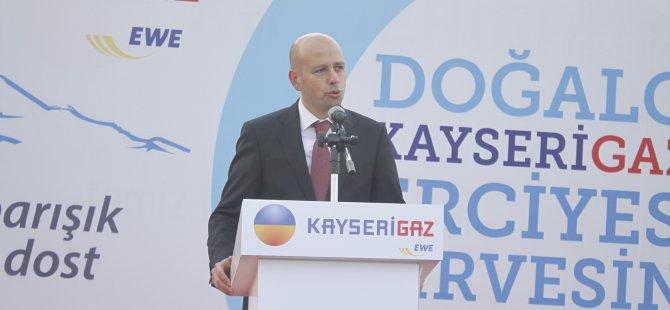 DOĞALGAZ 'KAYSERİGAZ İLE ZİRVEDE' SLOGANI İLE ERCİYES'TE