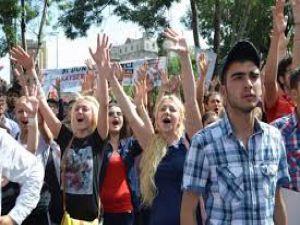 Kayseri'de 'Gezi Parkı' Eylemi