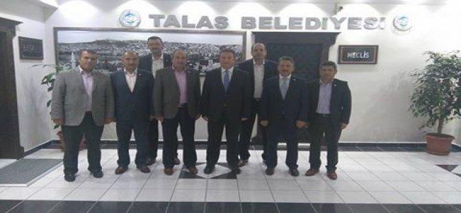 KAYSERİ EĞİTİM BİR SEN'DEN BAŞKAN PALANCIOĞLU'NA ZİYARET