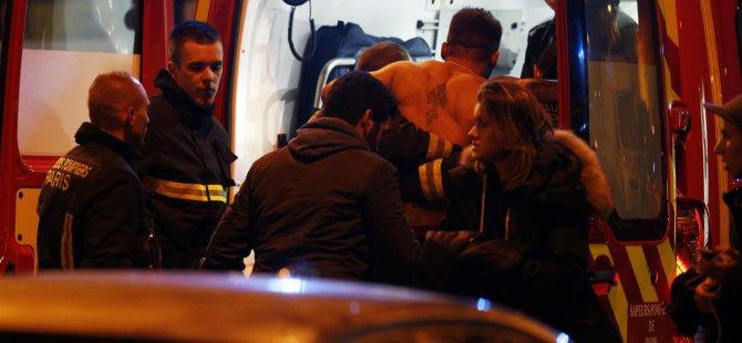 Paris'te Görgü tanığı dehşet anını anlattı herkesi kesiyorlar 150 ölü