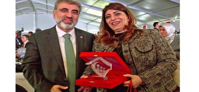 Avrupanın En Başarılı Girişimcileri Ödülü Berna Ilter'in