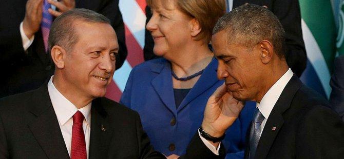 Cumhurbaşkanı Erdoğan Obama'dan makas aldı