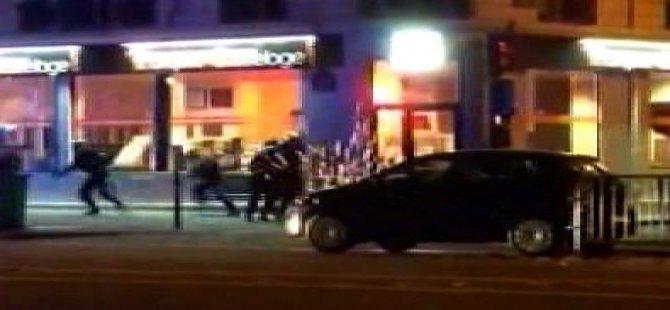 Paris'teki konser katliamından ilk görüntü