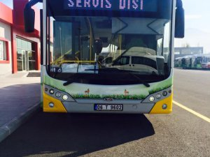 TCV KARAT Marka %100 Elektrikli Otobüs Kayseride