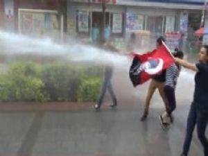 Adana'da Gezi Parkı Olayları Polis Müdahale Etti