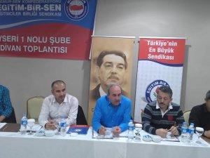 EĞİTİM BİR SEN 1 NOLU ŞUBE  KASIM AYI İL DİVAN TOPLANTISINI YAPTI
