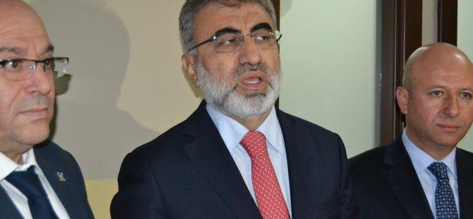 Taner Yıldız, AK Parti Kocasinan Toplantısı'na katıldı