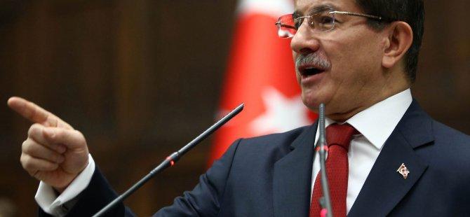 Başbakan Davutoğlu yolsuzluk yapanın kellesini alırım