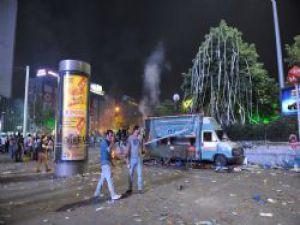 Ankara'da Kızılay ve Çevresi Büyük Hasar Gördü
