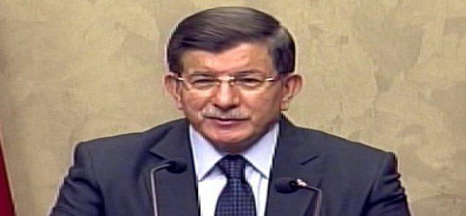 Davutoğlu: Tahir Elçi'nin yanında bulunan silahla bir polisimiz şehit oldu
