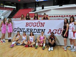AGÜ SPOR'DAN ÜST ÜSTE 4. GALİBİYET