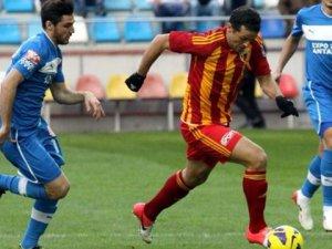 Kayserispor Kupa'da Sarıyer'e 7 gol attı