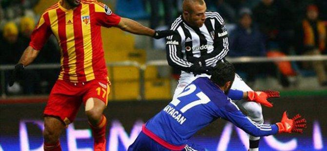 Kayserispor Hakemi Geçemedi 1-2 Beşiktaş