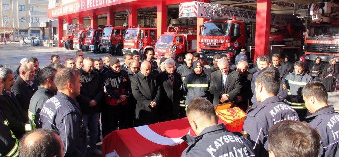 KAYSERİ'DE TRAFİK KAZASINDA HAYATINI KAYBEDEN İTFAİYE ER