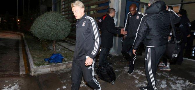 Beşiktaş'ın Kayserispor maç öncesi formaları çalındı