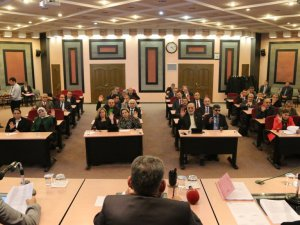 Melikgazi 2015 yılı Aralık ayı meclis toplantısını yaptı