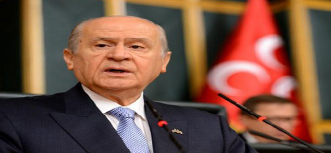 Bahçeli: MHP'siz siyaset Türk'süz devlet demektir