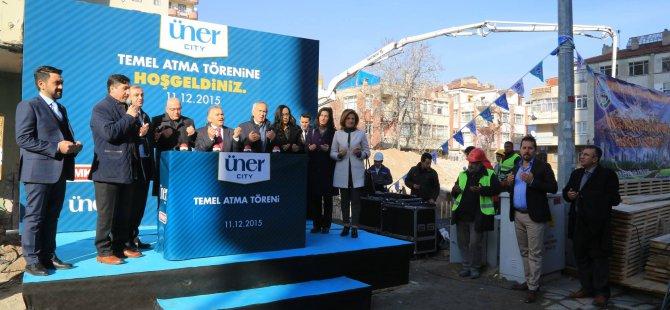 Üner City Kılıçaslan Projesinin temeli gerçekleşen törenle atıldı