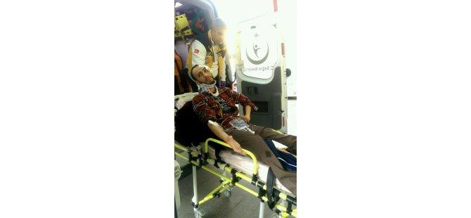 Sivas Caddesi Bıçaklı Kavga 1 yaralı