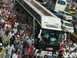 CHP'li İnce'ye taksim'de tepki: Arkanızdan gelmeyiz