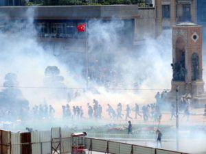 Kayseri'de Göstericilere Müdahale
