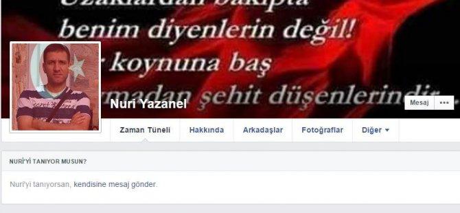 KAYSERİ ŞEHİDİNE AĞLIYOR