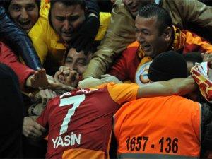 Galatasaray Akhisar'ı mağlup etmeyi başardı