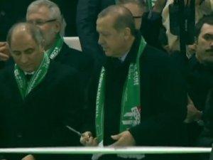 Cumhurbaşkanı Erdoğan Timsah Arena'nın açılışını yaptı