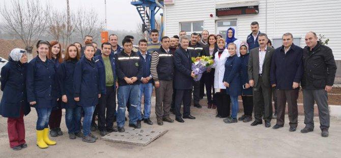 Kayseri Şeker'de tarladan fabrikaya pancar nakliyesi sona erdi