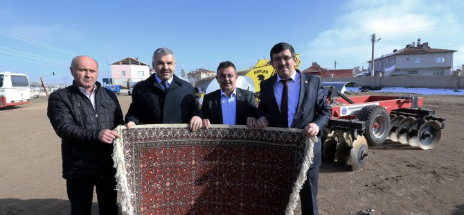 Büyükşehir Belediye Başkanı Mustafa Çelik, Bünyan'da