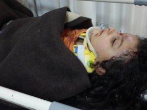 Kurbanlık koç dehşet saçtı Küçük kız ağır yaralı