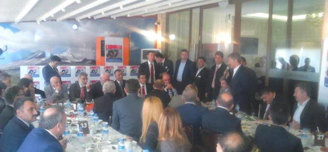 Başkan Akay, Şeker Pancarı sorunlarını Ekonomi Bakanı'na iletti