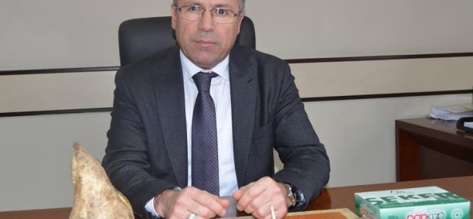 Kayseri Şeker Fabrikası Genel Müdürü Levent Benli;