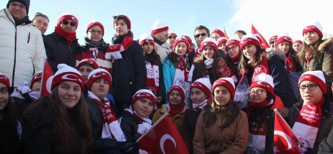 SARIKAMIŞ ŞEHİTLERİ ERCİYES'TE ANILDI