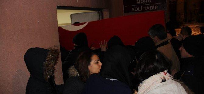 ŞEHİT POLİS YÜCE'NİN CENAZESİ MEMLEKETİNE GETİRİLDİ