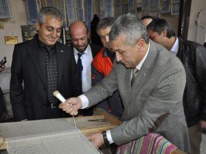 MHP BÜYÜKŞEHİR BAŞKAN ADAYI ÖZSOY'A HACILAR'DA YOĞUN İLGİ