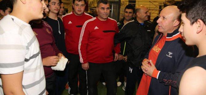 Kocasinan'da Spor Merkezlerini  Artıracağız