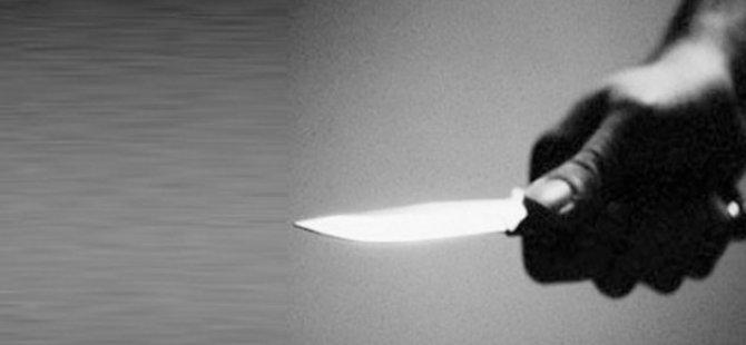TOMARZA'DA TARTIŞTIĞI ANNESİNİ BIÇAKLAYARAK ÖLDÜRDÜ